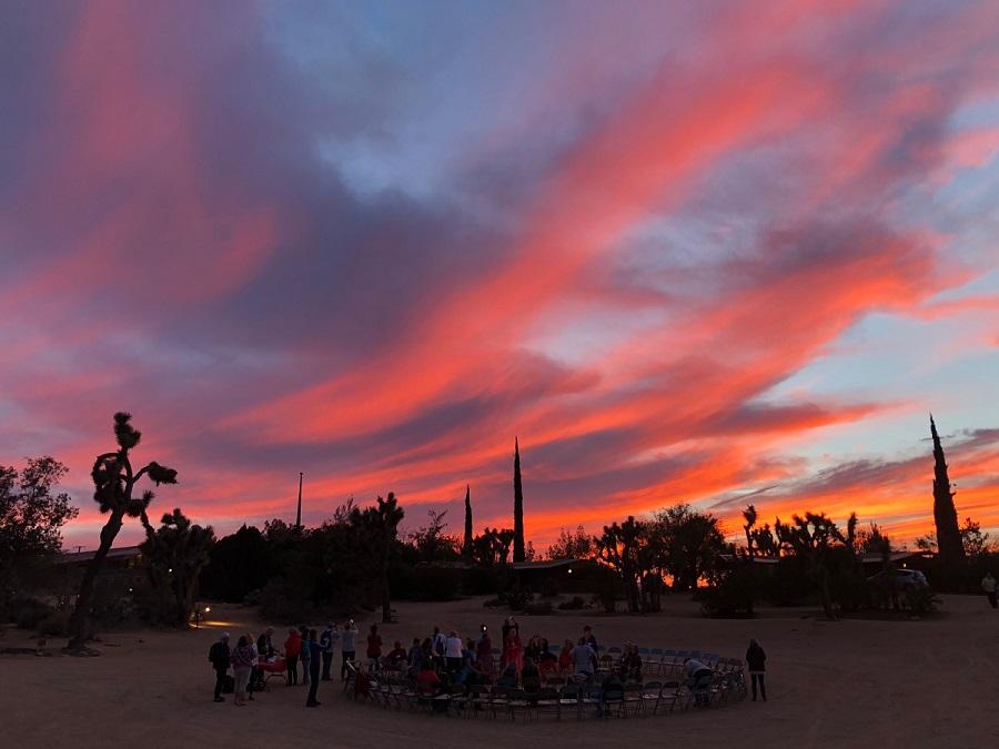bonfire_sunset